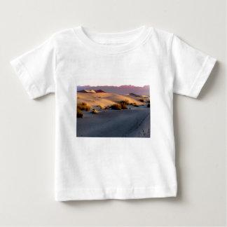 Camiseta Para Bebê Dunas de areia lisas o Vale da Morte do Mesquite