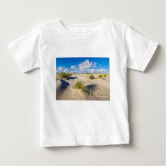 Camiseta Para Bebê Dunas na ilha Amrum do Mar do Norte