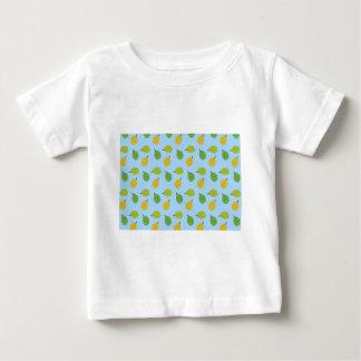 Camiseta Para Bebê durians azuis