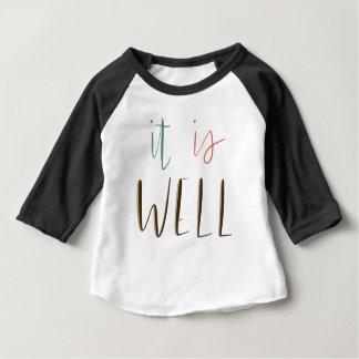 Camiseta Para Bebê É bem
