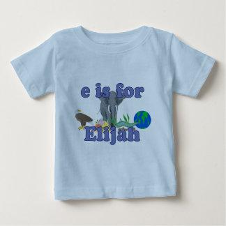 Camiseta Para Bebê E é para Elijah