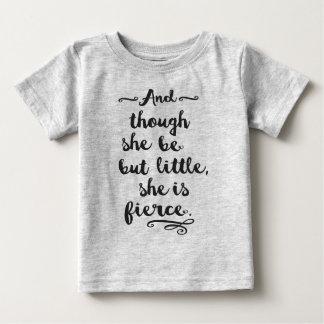Camiseta Para Bebê É feroz