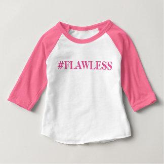 Camiseta Para Bebê É sem falhas