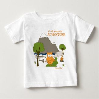Camiseta Para Bebê É toda sobre a aventura