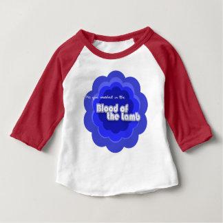 Camiseta Para Bebê É você lavou no sangue do cordeiro