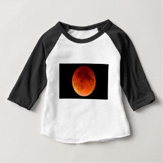 Camiseta Para Bebê Eclipse da lua do sangue