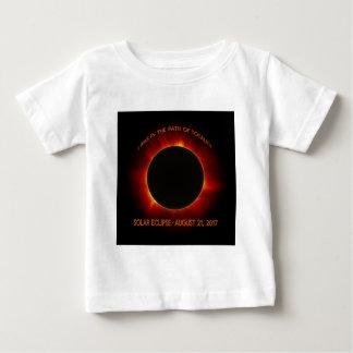 Camiseta Para Bebê Eclipse solar