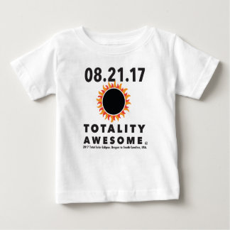 "Camiseta Para Bebê Eclipse solar total da ""camiseta impressionante"
