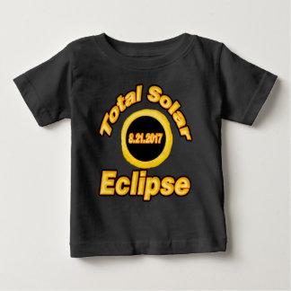 Camiseta Para Bebê Eclipse solar total v2
