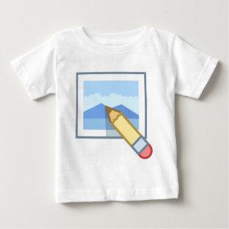 Camiseta Para Bebê Edição da foto