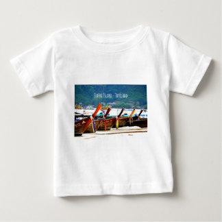 Camiseta Para Bebê Edição do cartão de Phiphiisland