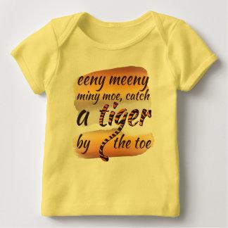 Camiseta Para Bebê Eeny meeny miny moe | Baby T-shirt