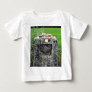 Camiseta Para Bebê EL Camino: Marcador 86 quilômetros, espanha