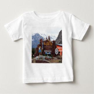 Camiseta Para Bebê EL Chalten, Patagonia, Argentina