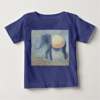 Camiseta Para Bebê Elefant