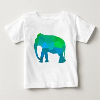 Camiseta Para Bebê Elefante 1 do mosaico