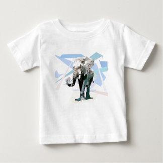 Camiseta Para Bebê Elefante da África