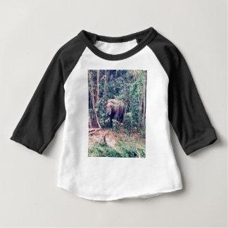 Camiseta Para Bebê Elefante em Tailândia