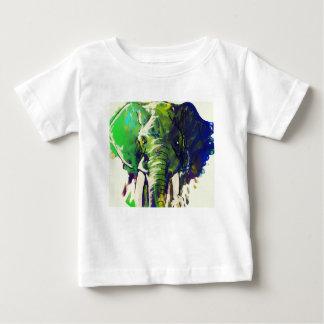Camiseta Para Bebê Elefante lunático
