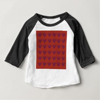 Camiseta Para Bebê Elementos de Ethno do design de Seeweeds