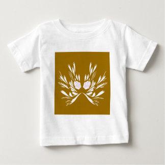 Camiseta Para Bebê Elementos do design que Wedding