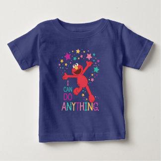 Camiseta Para Bebê Elmo | eu posso fazer qualquer coisa