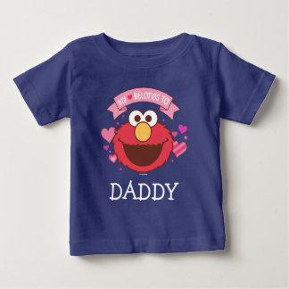 Camiseta Para Bebê Elmo | meu coração pertence a Elmo
