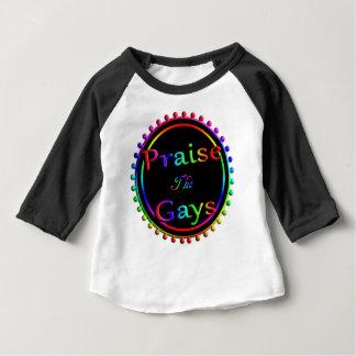 Camiseta Para Bebê Elogie os gay