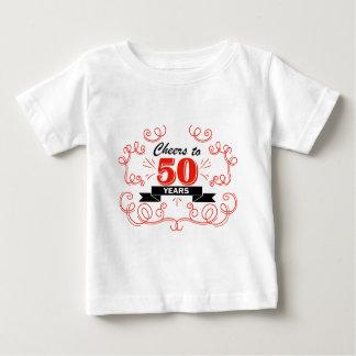 Camiseta Para Bebê Elogios a 50 anos