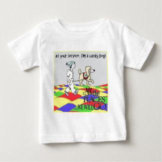 Camiseta Para Bebê Em sua cópia do serviço C&B