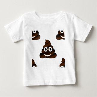 Camiseta Para Bebê emoji engraçado do tombadilho