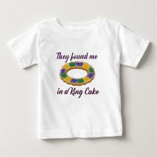 Camiseta Para Bebê Encontraram-me em um rei Endurecimento