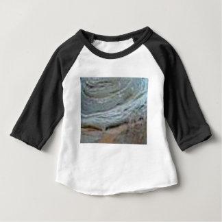 Camiseta Para Bebê endureça a ondinha da rocha