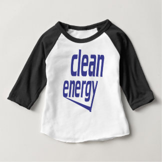 Camiseta Para Bebê Energia limpa