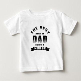 Camiseta Para Bebê Enfermeira, o melhor tipo do pai