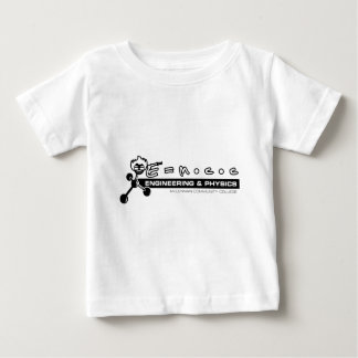 Camiseta Para Bebê Engenharia & física no CCM