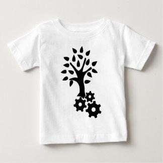Camiseta Para Bebê Engenharia verde