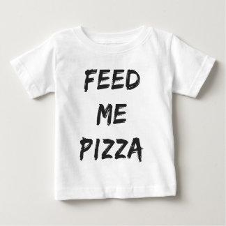 Camiseta Para Bebê Engraçado alimente-me o impressão das citações da