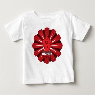 Camiseta Para Bebê Engraçado: Os procrastinadores unem-se! (Amanhã)