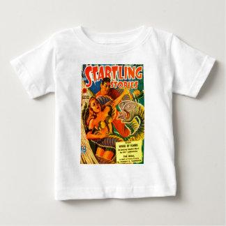 Camiseta Para Bebê Enguia Dois-dirigida assustador do espaço