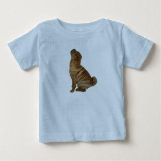 Camiseta Para Bebê Enrugamentos abundante