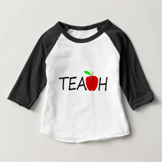 Camiseta Para Bebê ensine