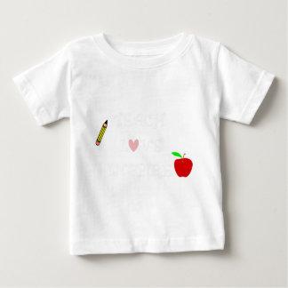 Camiseta Para Bebê ensine o amor inspire2