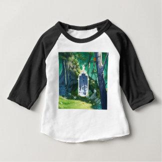 Camiseta Para Bebê Entrada ao mundo paralelo