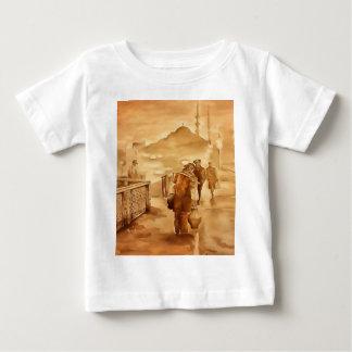Camiseta Para Bebê Entrega do Yogurt em Istambul