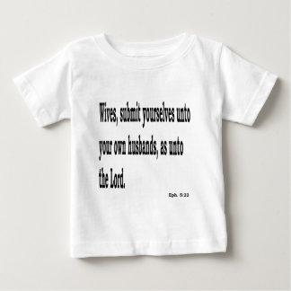 Camiseta Para Bebê Eph. 5:22