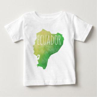 Camiseta Para Bebê Equador