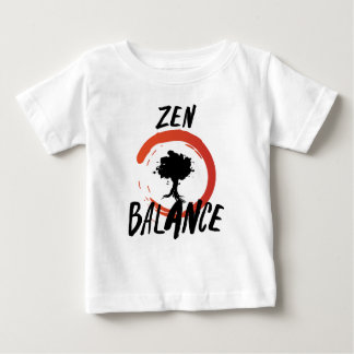Camiseta Para Bebê Equilíbrio do zen