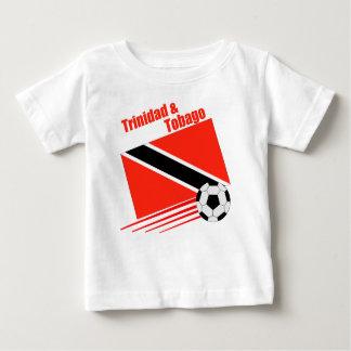 Camiseta Para Bebê Equipe de futebol de Trinidad & de Tobago