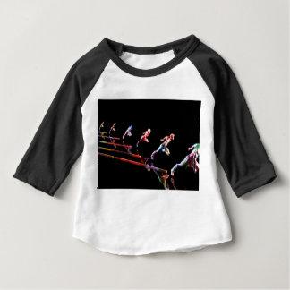 Camiseta Para Bebê Equipe dinâmica do negócio e organização das